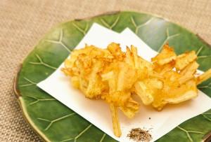 海老と長芋のつまみ揚げ