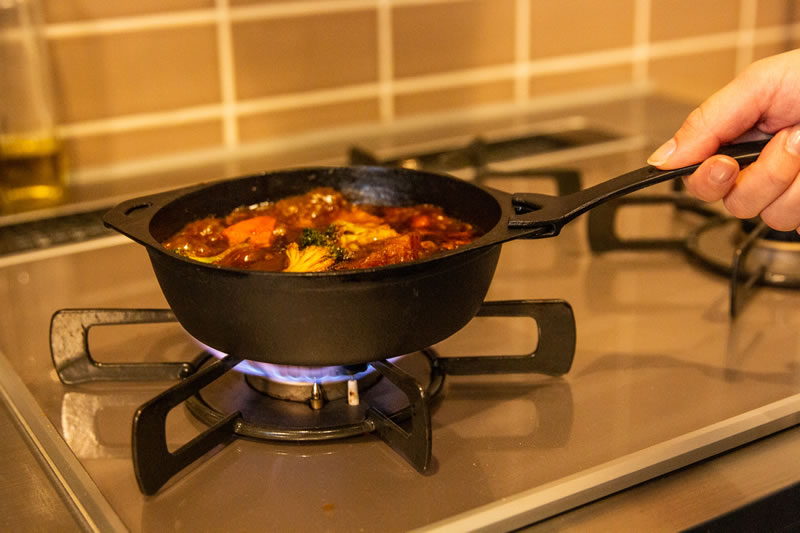 煮込み料理も美味しく仕上がる