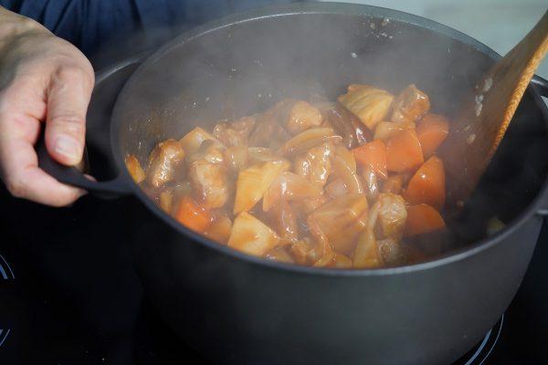 杏酢豚(薬膳レシピ)